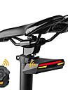 Baklykta till cykel säkerhetslampor LED Laser Cykelsport Fjärrkontroll Bimbar Laddningsbar Superlätt Lithiumbatteri Lumen USB Röd Gul