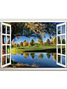 Botanic Peisaj #D Perete Postituri Autocolante perete plane 3D Acțibilduri de Perete Autocolante de Perete Decorative,Vinil Material