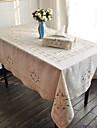Rectangulaire Fleur Nappes de table , Lin MaterielDecoration Soiree Mariage Mariage Banquet Decorations de Noel Tableau Dceoration