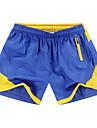 Larg Simplu Activ Talie Medie,Micro-elastic Activ Pantaloni Scurți Pantaloni Sport Pantaloni Brodat Peteci