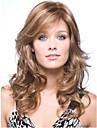 nouveaux arrivants longs ondules melange brun blond parfait europeen perruque de cheveux synthetiques