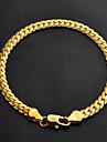 Pentru femei Brățări cu Lanț & Legături costum de bijuterii La modă Clasic Placat cu platină Placat Auriu Circle Shape Bijuterii Pentru