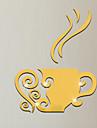Miroir Mode Forme Stickers muraux Autocollants muraux 3D Miroirs Muraux Autocollants Autocollants muraux decoratifs,Vinyle Materiel