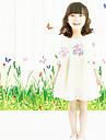 Mode Floral Loisir Stickers muraux Autocollants avion Autocollants muraux decoratifs,Papier Materiel Decoration d\'interieur Calque Mural
