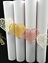 Hârtie Carton Servetele de nunta Piece / Set Inele de șervețele