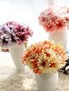 1 Gren Polyester Plast Strelitzia Bordsblomma Konstgjorda blommor 10*10