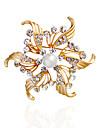 Dame Broșe Imitație de Perle ȘtrasDesign Basic Design Unic Stil Floral Natură Prietenie Imitație de Perle La modă Vintage Personalizat