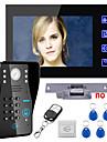 atingeți tasta 7 LCD Kit sistem de telefon ușă parola rfid interfon video închizător electric de blocare deblocare control de la distanță