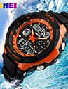 SKMEI® Men\'s Waterproof Multi-function Electronic Watch Boy Student Sports Outdoor Watch (more colors) Cool Watch Unique Watch
