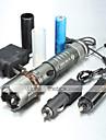 LED-Ficklampor Ficklampor LED 1000/1200/2000 Lumen 5 Läge XM-L2 T6 18650 AAAJusterbar fokus Vattentät Laddningsbar Greppvänlig Strike