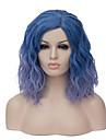 europeen et de la mode americaine tous les jours petit et pur et frais degrade bleu cos partie des nouilles instantanees perruque 1889