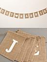 Jute Material Ecologic Decoratiuni nunta-1 buc / Set Primăvară Vară Toamnă Iarnă Nepersonalizat