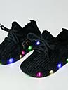 Băieți Adidași Vară Toamnă Confortabili Primii Pași Aprinde saboții Shoe luminoasă Tul Outdoor Casual Atletic Toc Jos Dantelă LED