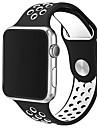 Culori duble cu ceas de mere sport curea de silicon respirabil 42mm brățară doar ceas nu este inclus