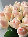 10 10 ramură Mătase Trandafiri Față de masă flori Flori artificiale