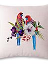 1 pcs Lin Taie d\'oreiller,Imprime animal Moderne/Contemporain
