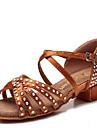 Chaussures de danse() -Non Personnalisables-Talon Cubain-Satin-Latines
