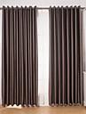 Două Panouri Tratamentul fereastră Modern , Geometic Sufragerie Poliester Material Blackout Perdele Draperii Pagina de decorare For