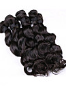 Tissages de cheveux humains Cheveux Malaisiens Ondulation Lache 18 Mois tissages de cheveux