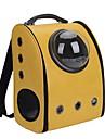 Chat Chien Sac de transport Astronaute Capsule transporteur Animaux de Compagnie Transporteur Portable Respirable Couleur PleineJaune