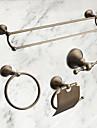 Set d\'Accessoires de Salle de Bain / Laiton AntiqueLaiton /Antique