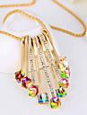 Femme Pendentif de collier Cristal Forme de Fleur Cristal Mode Arc-en-ciel Bijoux Pour Soiree Occasion speciale Quotidien 1 piece