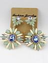 Cercei Picătură Diamant Stil Floral La modă Euramerican Aliaj Bijuterii PentruNuntă Petrecere Ocazie specială Zi de Naștere Logodnă