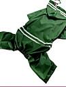 Chien Impermeable Vetements pour Chien Decontracte / Quotidien Sportif Uni Vert Bleu Rose Bleu clair Vert clair