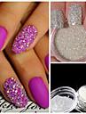 1 Nail Art-dekoration Strasspärlor makeup Kosmetisk Nail Art-design