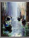 Pictat manual Peisaj Retro Un Panou Canava Hang-pictate pictură în ulei For Pagina de decorare
