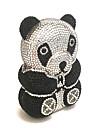 Designul panda de lux combină strasul pentru doamnele dulci
