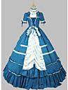 O piesă/Rochii Lolita Stil Gotic lolita Cosplay Rochii Lolita Vintage Manșon scurt Scurt / Mini Rochie Pentru Alte