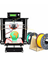 kit i3 demontees geeetech acrylique Prusa tete double extrudeuse MK8 buse 1.75mm filament de 0,3 mm