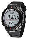 Men\'s Fashion Watch Digital Watch Digital Plastic Band Black