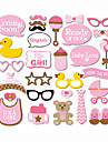Carton Decoratiuni nunta-30Piesă/Set Bebeluș nou Petrecerea Baby Shower