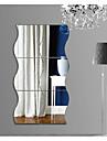 Forme Abstract #D Perete Postituri Autocolante perete plane 3D Acțibilduri de Perete Acțibilduri de OglindăAutocolante de Perete