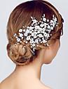 Cristal Diadema-Nuntă Ocazie specială Party/Seara Tiare Cordeluțe Flori 1 Bucată