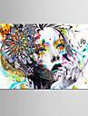 Impression d\'Art Personnage Moderne,Un Panneau Format Horizontal Imprime Decoration murale For Decoration d\'interieur