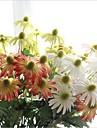 5 delar 5 Gren Silke Prästkragar Konstgjorda blommor