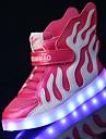Băieți Adidași Pantofi Usori Piele Primăvară Vară Toamnă Iarnă De Atletism Casual Plimbare Pantofi Usori LED Bandă Magică Toc Jos