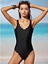 Femei O Piesă Femei Cu Bretele Solid Sport Nailon Polyester