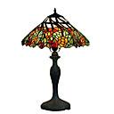 tiffany-style floral bronzový povrch stolní lampa (0923-tf9)
