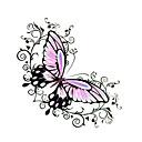 5 kom leptir vodootporan privremeni tattoo (6 cm * 6 cm)