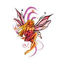 5 kom anđeo vodootporan privremeni tattoo (6 cm * 6 cm)