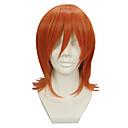 Cosplay Wigs One Piece Nami Narančasta Short Anime Cosplay Wigs 32 CM Otporna na toplinu vlakna Female