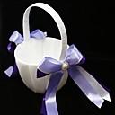 květinářka koš s dvojitými pásky a faux perlami