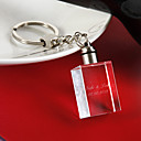 Kristal Privjesak favorizira Komad / set Keychains Klasični Tema Personalized White
