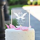 Figurky na svatební dort Přizpůsobeno Klasický pár / Srdce Křišťál Párty pro nevěstu / Výročí / Svatba Zahradní motiv / Klasický motiv