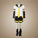Inspirirana Vocaloid Kagamine Len Video igra Cosplay nošnje Cosplay Suits Kolaž Kratki rukavTop / Kratke hlače / Kravata / Rukavi / Pojas