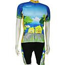 KOOPLUS® Biciklistička majica s kratkim tregericama Muškarci Kratki rukav Bicikl Prozračnost / Quick dryMajica + kratke hlače / Majica +